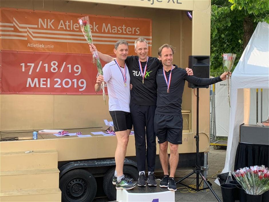 Toine podium NK 2019 400 meter