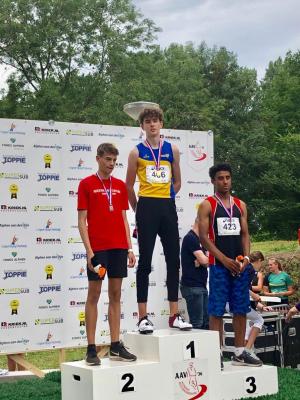 Finn Nederlands kampioen HSS