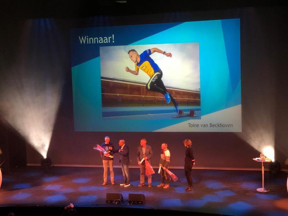 Sportgala 2019 Masters: Toine van Beckhoven