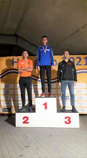 Christ  podium 10km NK Masters